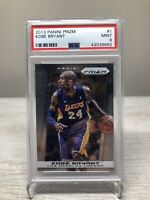 2013 Panini Prizm Kobe Bryant PSA 9 Mint NBA Basketball Los Angeles Lakers