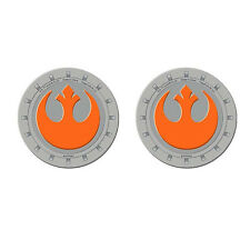 Disney Star Wars Rebel Alliance Universal Auto Cup Holder Coasters - 2PC Set