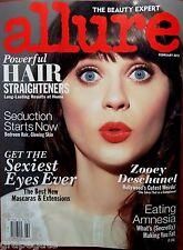 ZOOEY DESCHANEL - ALLURE MAGAZINE February 2012, BRAND NEW