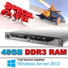 Dell PowerEdge R610 2 x HEX Core XEON X5670 2.93Ghz 48GB 2 x 146gb SAS Perc 6i