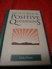 Daily Book of Positive Quotations, Hardcover By Linda Picone Great Gift Idea! O8
