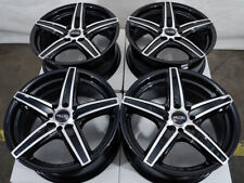 "14"" Wheels Toyota Yaris Prius Corolla Galant Accord Civic Black Rims 4x100 4x114"