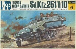 Fujimi SdKfz 251 1/76 Scale Model Kit
