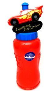 Disney Pixar Cars Lightning McQueen 14 oz. BPA Free water bottle-Brand New!