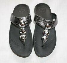 Women's Metallic & Bling FIT FLOP Sandals Slides Shoes Fitflop Sz 7
