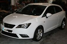 2013 SEAT IBIZA TOCA 1.4 PETROL CGG, WHITE LB9A, 3 DOOR, WHEEL NUT, BREAKING
