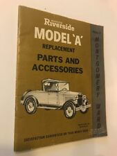 Vintage Montgomery Ward Wards Riverside MODEL A Car Replacement Parts Catalog
