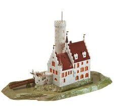Faller N Scale 232242 Lichtenstein Castle With Moat *NEW USA DEALER $0 SHIP