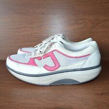 Joya ID Casual Womens Comfort Leather White Shoes sz EUR 41.5 / US 10 / UK 7.5