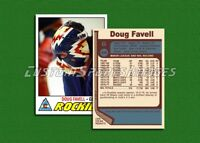 Doug Favell - Colorado Rockies - Custom Hockey Card  - 1976-77