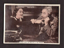 George Arliss and Rene Ray in His Lordship 1936 Ardath Cigarette Card