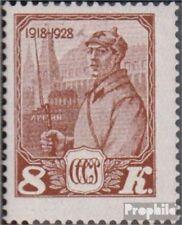 union soviétique 354 avec charnière 1928 rouge armée