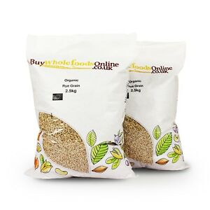 Organic Rye Grain 2.5kg   Buy Whole Foods Online   Free UK Mainland P&P