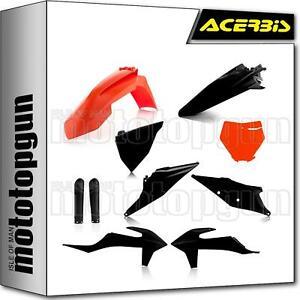 ACERBIS 0023479 FULL PLASTICS KIT SCHWARZ ORANGE KTM SX-F 450 2021 21