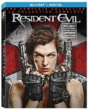 Resident Evil: The Complete Collection  (Blu-ray + DIGITAL HD) *BRAND NEW*