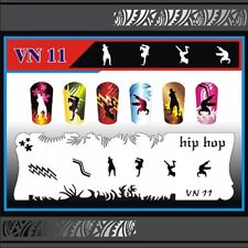 Nail Art Airbrush Stencils (VN 11-20)