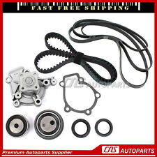 Timing Belt Kit Water Pump Serpentine Belt For 01-07 Hyundai Elantra Kia 2.0L