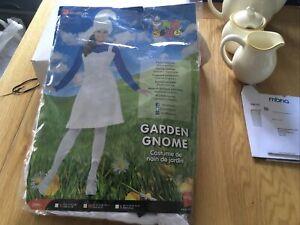 smiffys fancy dress garden gnome/ smurf costume womens Size 14-16 Large