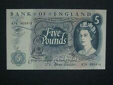 """*** décent ** British """"EF"""" £ 5 Fforde R74 BILLET ***"""