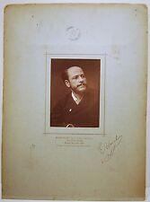 SALON 1883 2 photos PEINTRE E-H BLANCHON + Tableau Louis BEROUD 13,5x9,6 cm