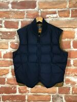 Vintage Polo Ralph Lauren M Light Waxed Quilted RRL Hunting Down Puffer Vest