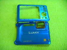 GENUINE PANASONIC DMC-TS4 FRONT BACK CASE BLUE REPAIR PARTS