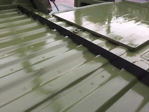 HMMWV Aluminum Cargo Bed Seal divider M998 Humvee Soft Top Rail Hummer Doors
