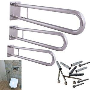 Klappgriff Griff für Badezimmer Stützklappgriff Toilettengriff Aufstehhilfe