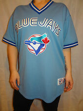 Toronto Blue Jays Adam Lind # 26 Sewn Blue Vintage Style Majestic Jersey Sz XL