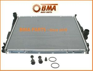 NEW BMW E46 3SERIES RADIATOR FOR A/T 323I, 325, 328, 330 &Z4 NISSENS 17119071519