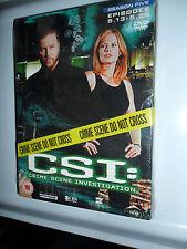 CSI DVD CRIME SCENE INVESTIGATION SEASON 5 BOX SET EPISODES 5 13 - 5 25 9 HOURS