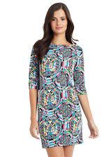 VFISH Caitlyn Dress Kaleidoscope Print Jersey Dress Medium 6-8 NEW w/Tags! $108
