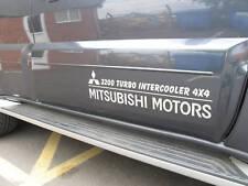 Mitsubishi 4x4  Vinyl decal sticker  door graphic x2 Shogun,