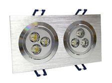 6W LED Energy Saving Grid Giling Spotlight - Warm White By CS Power