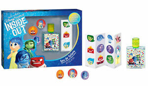 Disney Inside Out Set Gift Perfume Unisex 1.7oz + Pins + Stickers