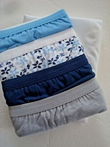 Ladies Hanes Briefs Box of 5 Ultra Soft No Ride Up Size 7/L