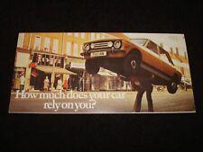 TOYOTA COCHE SERIE FOLLETO VENTAS GB C. 1977 1000 , Corolla,CARINA,Celica,CORONA