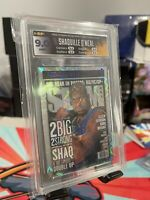 HGA 2020-21 Panini NBA Hoops Shaquille O'Neal SLAM Purple Explosion Holo #9