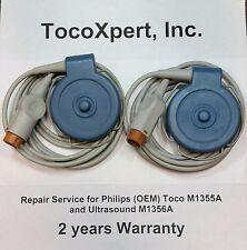 HP Philips M1355A Fetal TOCO Transducer - $331 - 2 Year Warranty! 100% ORIGINAL