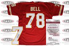 Bobby Bell Signed Kansas City Custom Pro Style Jersey JSA Witnessed