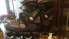 Roller derby skates model i-324 FormulaZ size 9 womens black/gray has tags