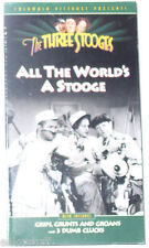The Three Stooges - All The World's A Stooge NEW sealed VHS! Nice See!