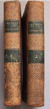 MISSIONS en CHINE MONTMIGNON 1808 tomes I et II Choix des Lettres Edifiantes