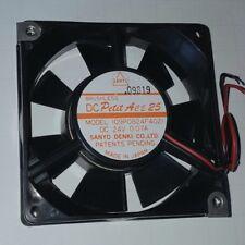 Sanyo Denki 24V 0.07A Brushless Dc Petit Ace 25 Cooling Fan 109P08 00006000 24F4021