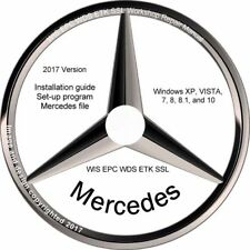 Mercedes Benz 2016 2017 EPC WIS ASRA Volle deutsche Version. Vorinstalliert!