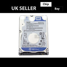 """Genuine sottile WD Blu 500gb DISCO fisso HDD 2.5"""" SATA 5400 RPM-III WD 5000 lpcx"""