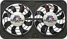 Flex-A-Lite 410 S-Blade Low Profile Universal Dual Electric Fan