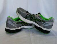 Asics Gel-Flux 3 Mens Running Shoes /Black/Green Gecko T614N Size 10.5