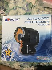 RESUN AF-2003 AUTOMATIC FISH FEEDER - PELLETS OR FLAKE