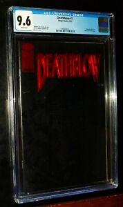 DEATHBLOW #1 1993 Image Comics CGC 9.6 Near Mint + White Pages